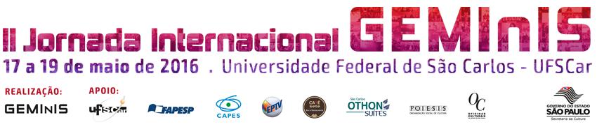 II Jornada Internacional GEMInIS - JIG 2016